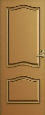 Solid wood interior door with convex engraving for a more artistic feel or a successful combination with a classic interior design space. Doors in Ashdod and the surrounding area