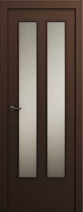 Asian style door with a combination of glass texture and solid wood doors in Ashdod and surrounding area